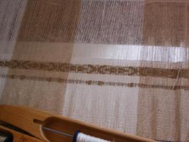 織り始めました。