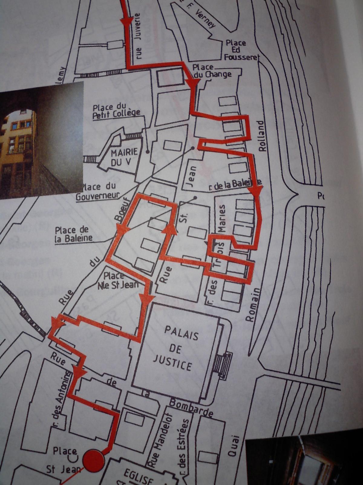 トラブール地図