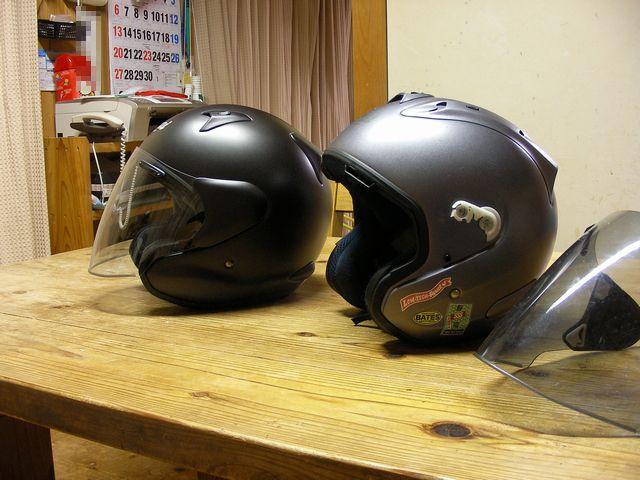 ヘルメット買い替え