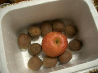 追熟はリンゴにおまかせ