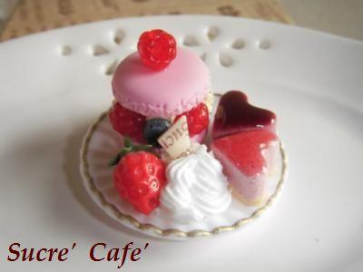 miniマカロンケーキ