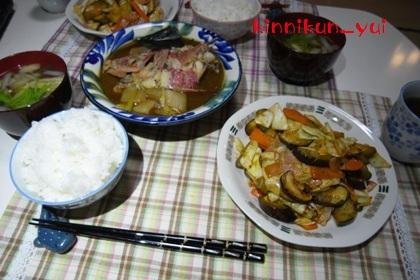 20111107なかじま家の食卓