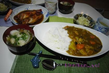 20111109なかじま家の食卓