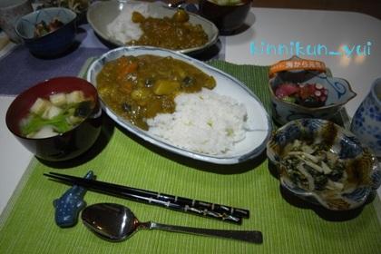 20111111なかじま家の食卓