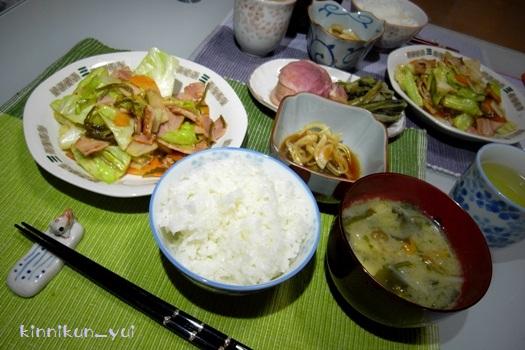 20120209なかじま家の食卓