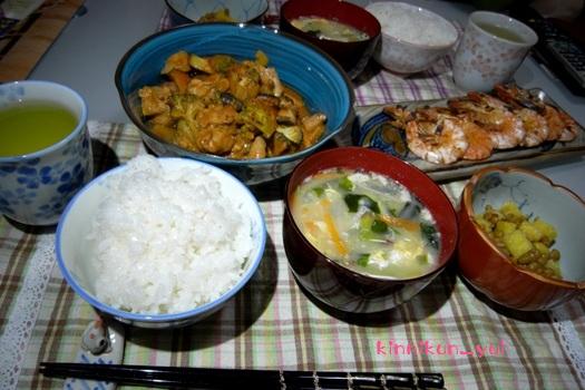 20120404 なかじま家の食卓