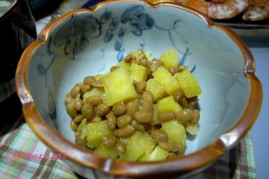 さつま芋納豆