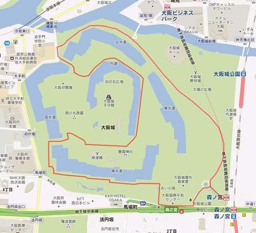 大阪城ランコース