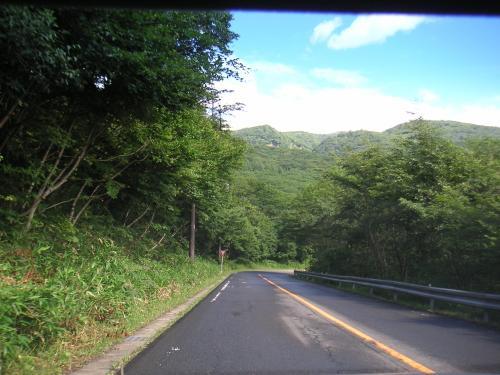 甲子道路辺り1