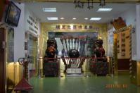 牛軋糖博物館の廟