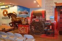 牛軋糖博物館の馬車