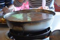 有木餐廳の地鶏スープ