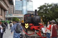 台北駅東口の汽車