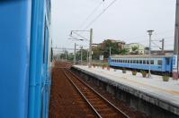 九曲堂に留置中の旧型客車3