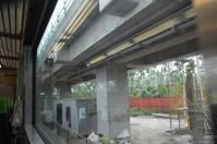屏東区間現在高架化工事中
