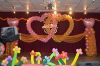 結婚式@台南のステージ