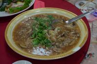 台南結婚式のフカヒレとろみスープ