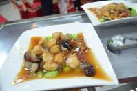 台南結婚式のホタテ料理