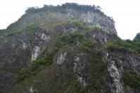 タロコ渓谷の燕子口対面の断崖