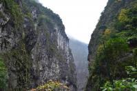 タロコ渓谷の巨岩