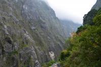タロコ渓谷の花崗岩巨大一枚岩