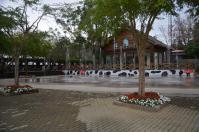 台東初鹿牧場の噴水