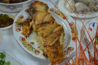 宜蘭の年菜の焼き魚