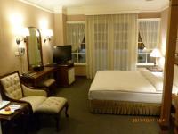 台南康爵大飯店の部屋