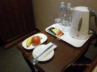 台南康爵大飯店のウェルカムフルーツ