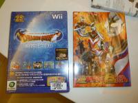 WiiソフトドラゴンクエストⅠⅡⅢとウルトラマンDVD