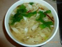 長栄路の搾菜肉絲麺