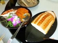 88號海鮮のカニ味噌トースト