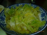 高麗菜心(芽キャベツ)炒め