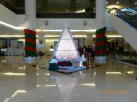 台南台糖長榮酒店のクリスマス仕様ロビー