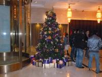 台南のKTVロビーもクリスマス仕様