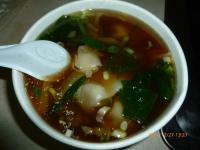 牛肉ワンタンスープ