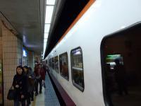 EMU1200自強號台北到着