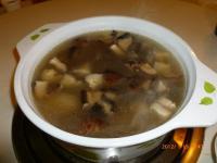 鶏家荘の鶏キノコスープ鍋