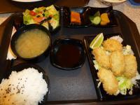 天母高島屋のカキフライ定食