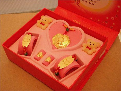 彌月禮盒 ペンダント 指輪 ブレスレット