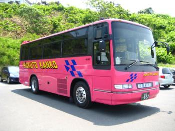 目立つ!北都観光バス