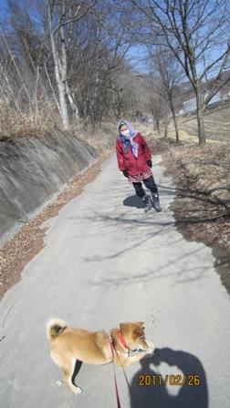 散歩2月26日2