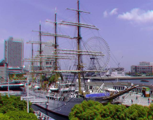 アナグリフ 横浜開港祭