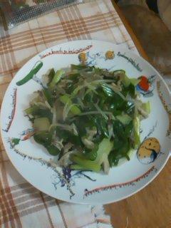 野菜あんかけ炒め