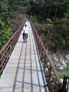 鬼怒川つり橋