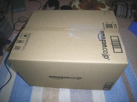 アマゾンからの荷物