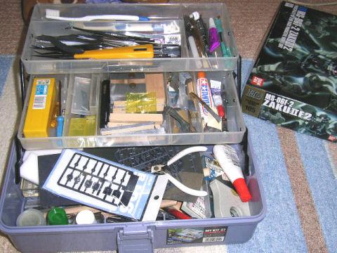 久し振りの工具箱