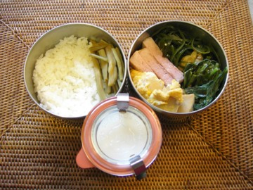 杏仁豆腐弁当