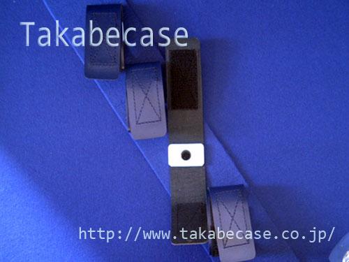ケース内装例 固定ベルト