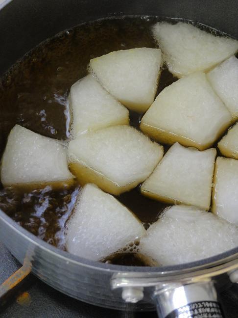 冬瓜含め煮4
